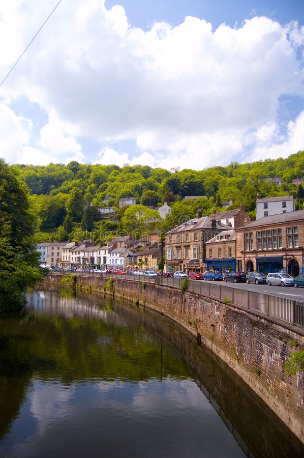 Free Matlock And The Derwent Royalty Free Stock Photo - 2838665