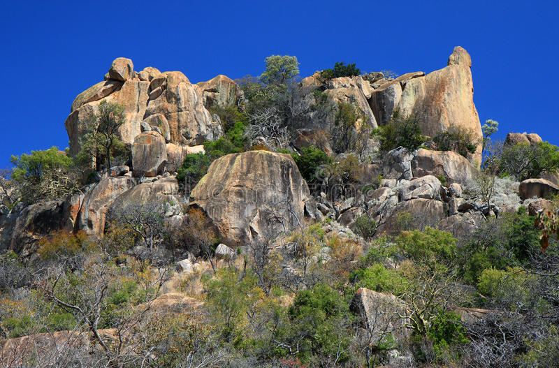 Matobo (Matopos) NP royalty free stock photos