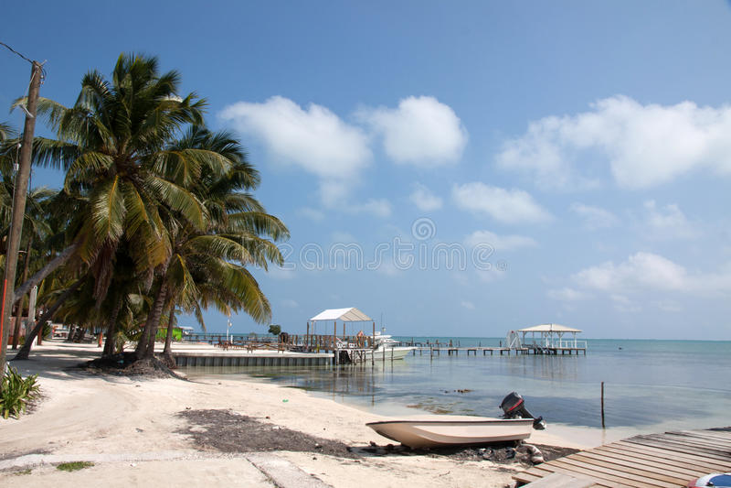 Matoir de Caye, Belize photos libres de droits