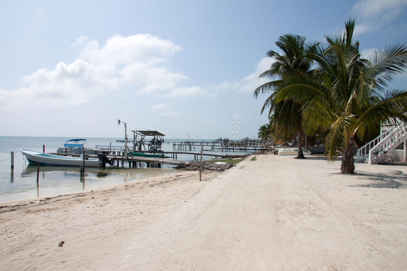 Matoir de Caye, Belize image libre de droits