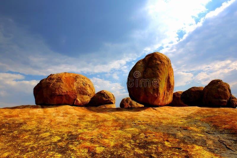 Matopos park narodowy, Zimbabwe obrazy royalty free