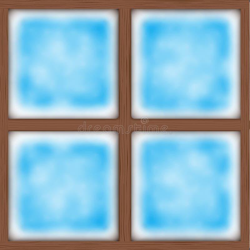 matowe okna również zwrócić corel ilustracji wektora royalty ilustracja