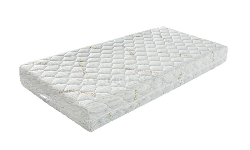 Matras die u aan goed de hele avond geïsoleerde slaap steunde royalty-vrije stock afbeelding