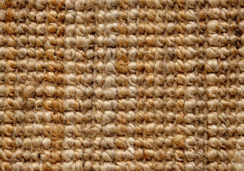 Matras van kokosvezel Achtergrond royalty-vrije stock foto