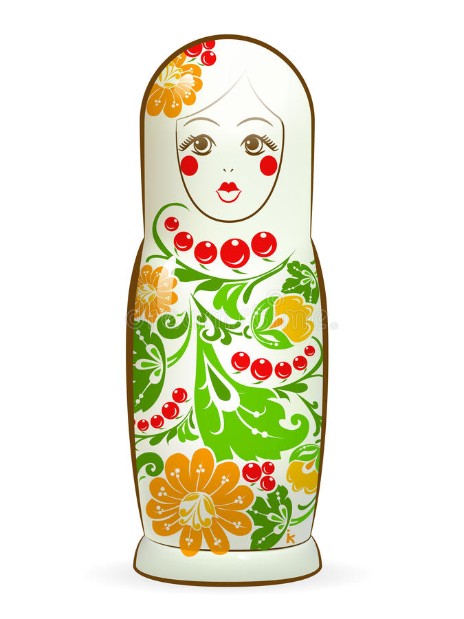 Matreshka libre illustration