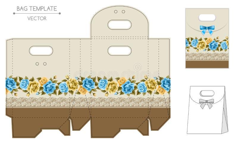 Matriçage de conception de sac illustration stock