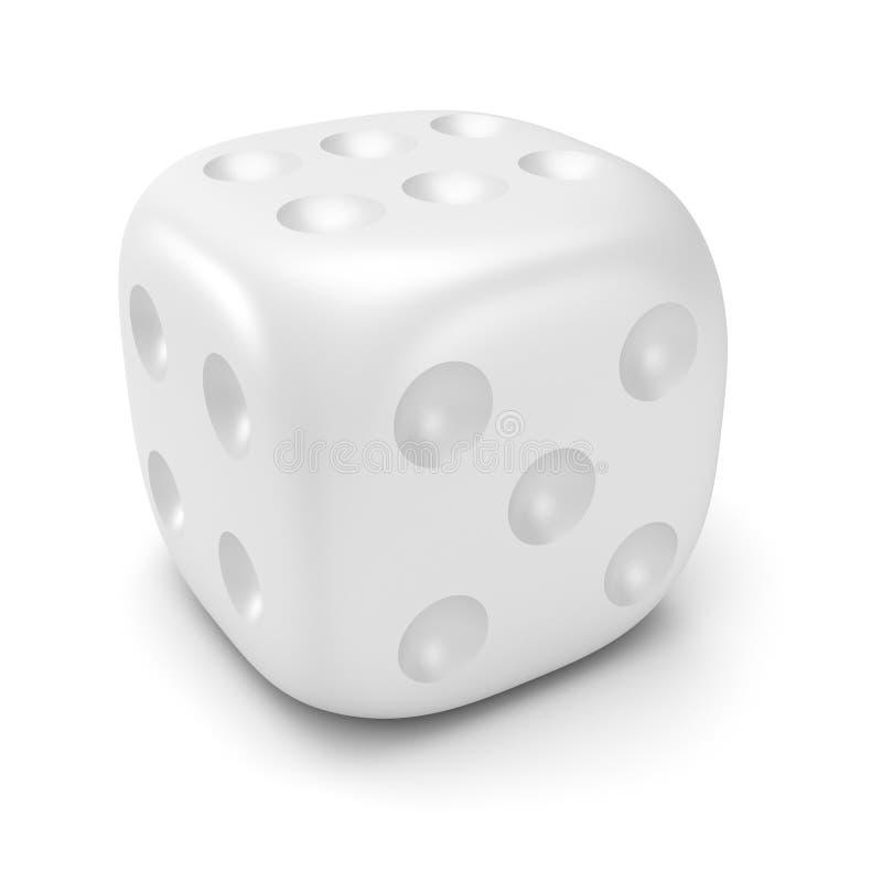 Matrices blanches illustration de vecteur