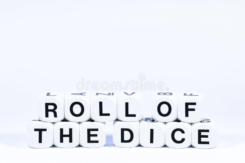 Matrices en lettres définissant le rouleau d'expression des matrices images stock