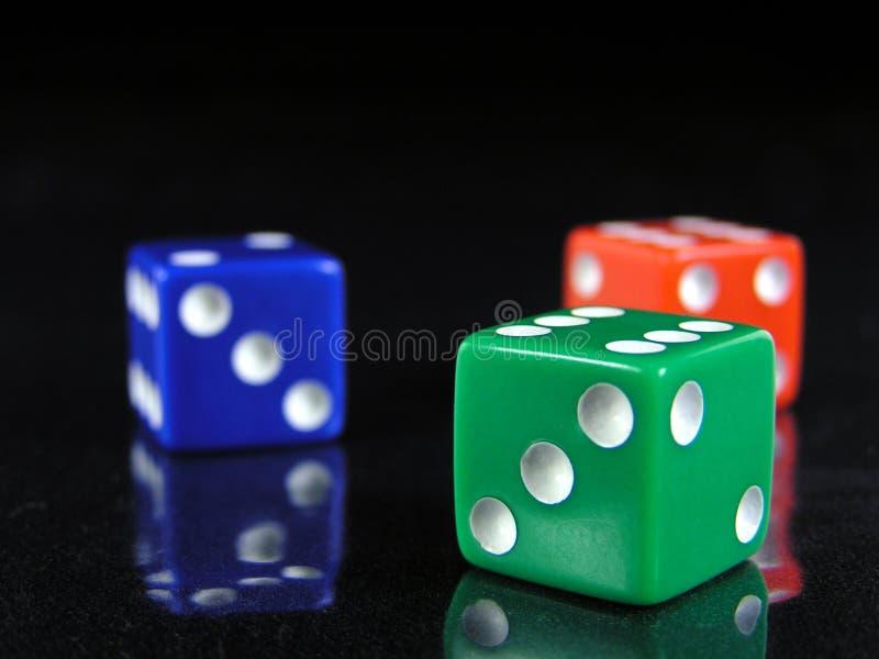 Matrices rouges, vertes, et bleues 2 images stock