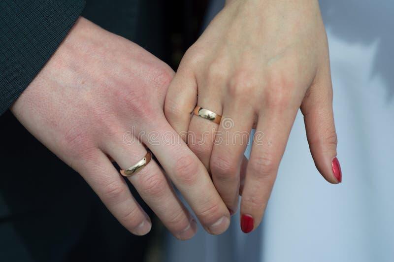 Matrimonio de la boda de los jóvenes foto de archivo libre de regalías