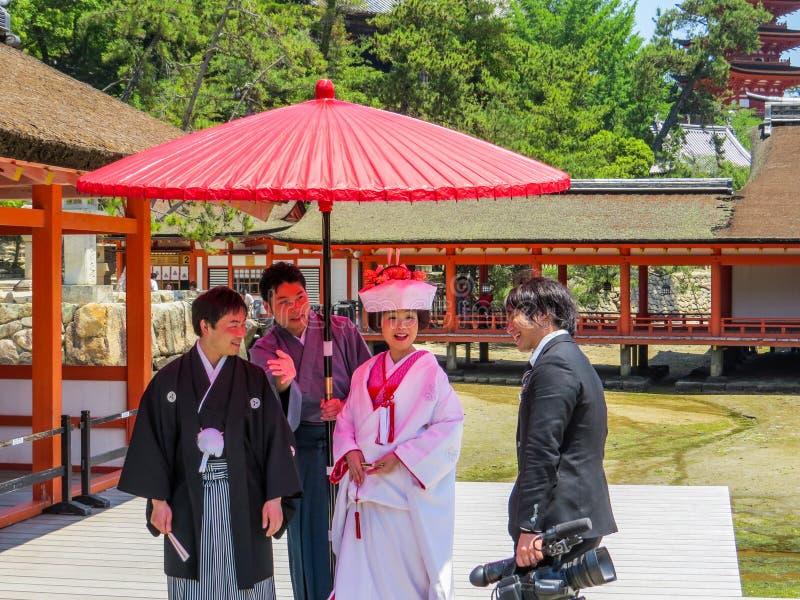 Matrimonio giapponese immagini stock