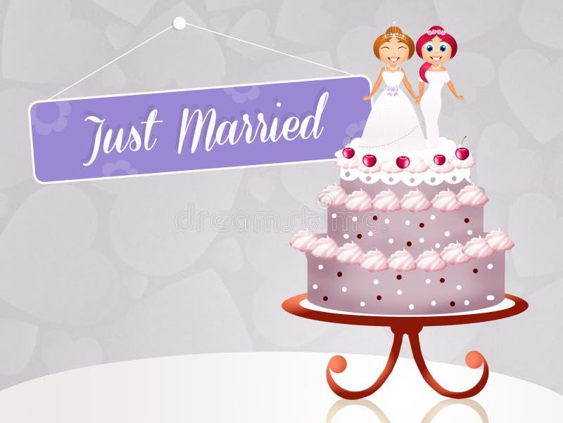 Matrimonio homosexual libre illustration