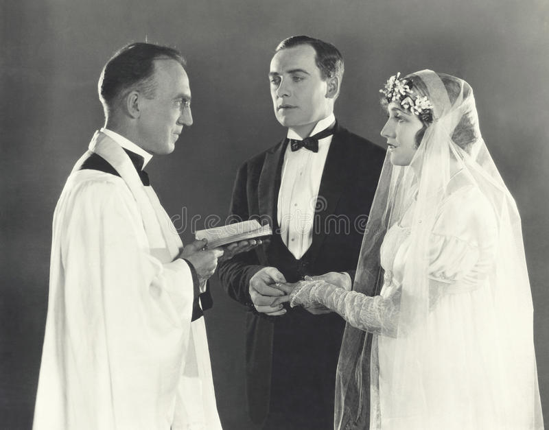 Matrimonio santo fotos de archivo libres de regalías