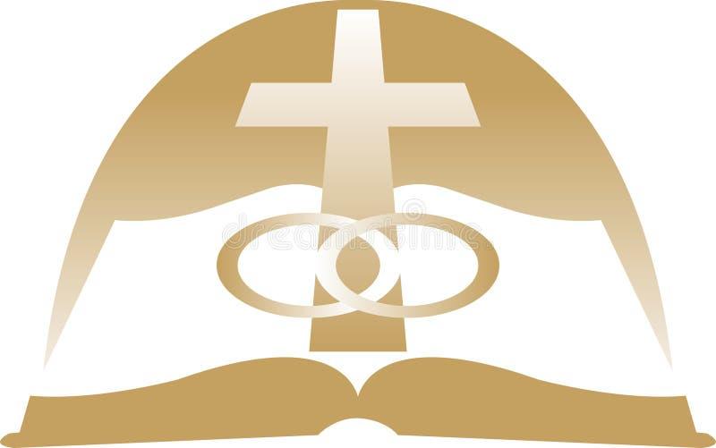 Matrimonio santo/ENV royalty illustrazione gratis