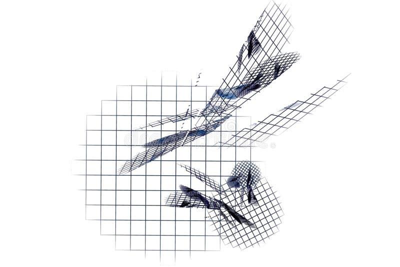 matrix Abstraktes Bild stockbilder