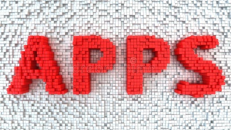 Matrix APPS illustration libre de droits