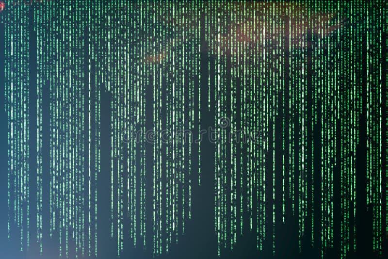 Matrix background vector illustration