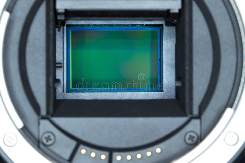 Matrix camera macro. Matrix digital camera close-up royalty free stock images
