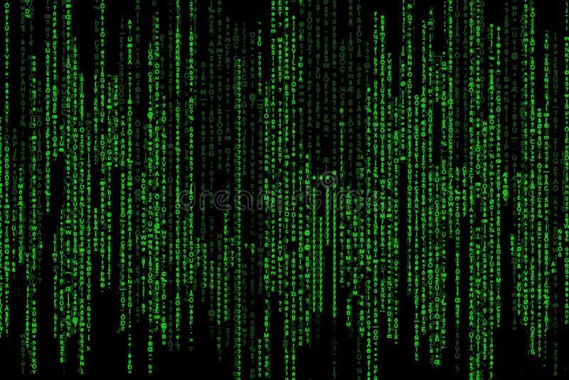 Download Matrix code stock illustration. Illustration of code, software - 7599816