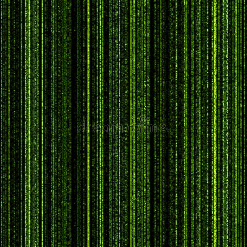 Matrix - Hintergrund stock abbildung