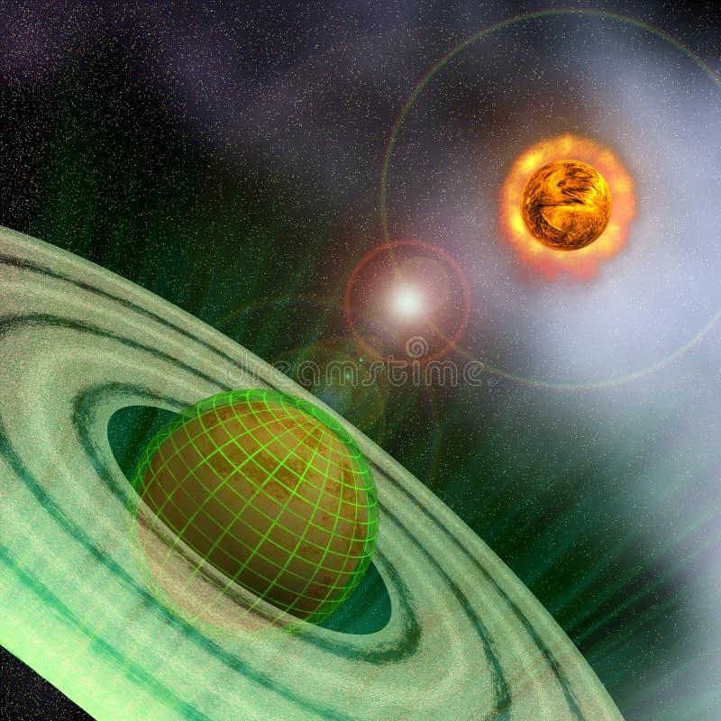 Download Matrix Planet stock illustration. Illustration of orbit - 22536358