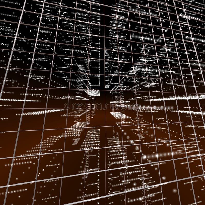 Download Matrix raster stock illustration. Illustration of computer - 9614025