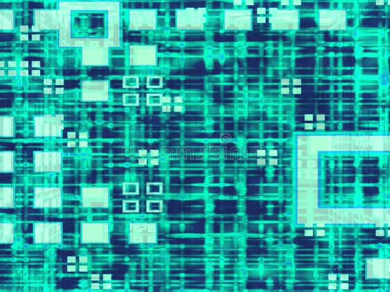 Matrix-Rasterfeld-Hintergrund lizenzfreie abbildung
