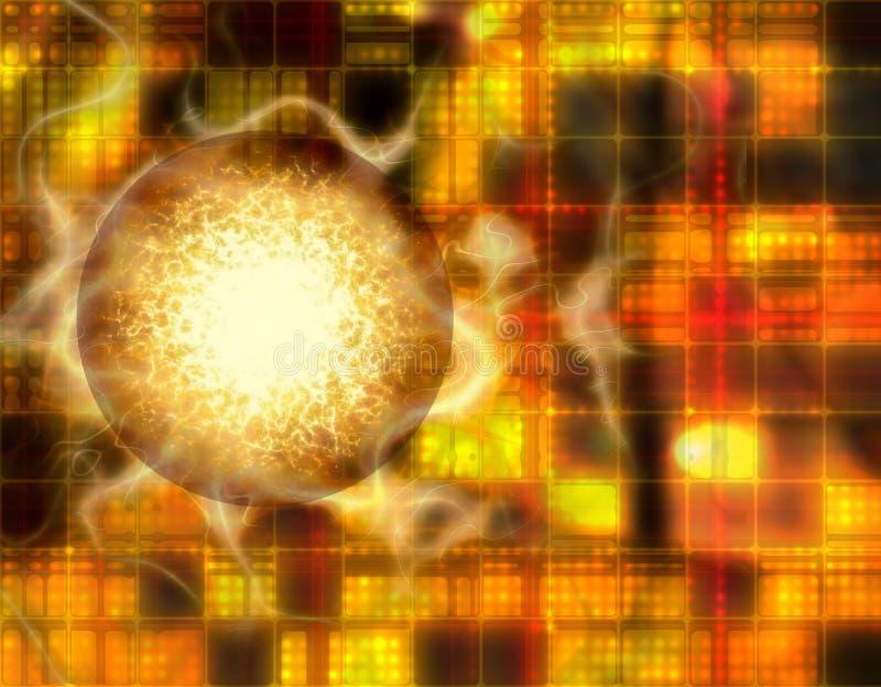 Matrix Storm vector illustration