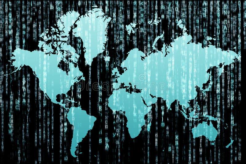 Matrix_world royalty illustrazione gratis