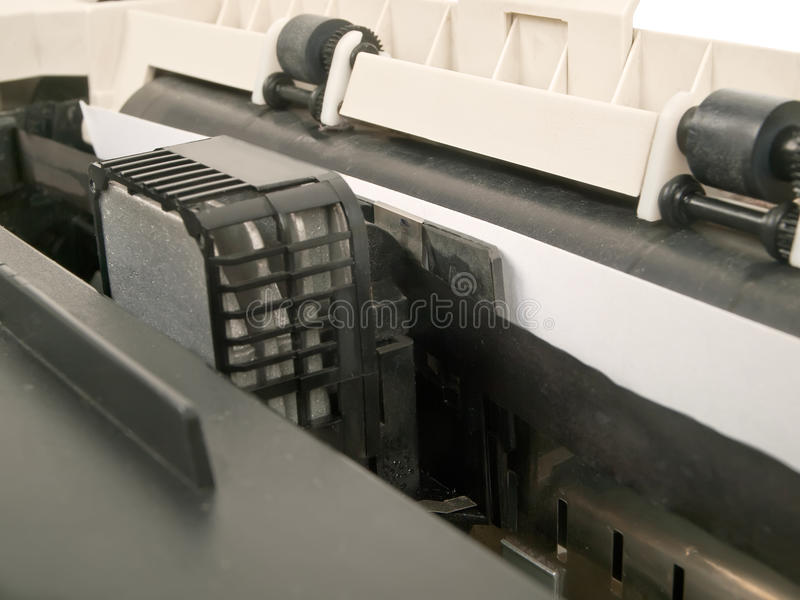 Matrixdrucker stockfotografie