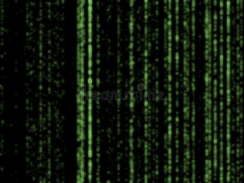 Download Matrixhintergrund stock abbildung. Bild von streifen, matrix - 45762