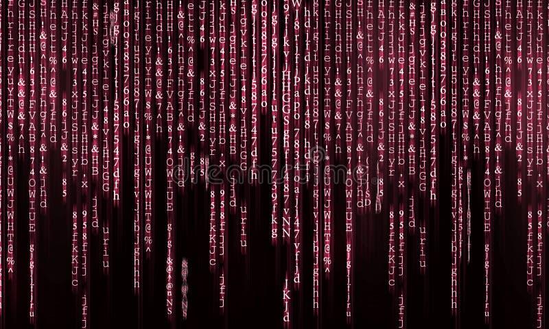 Matrixkonzept stockbild