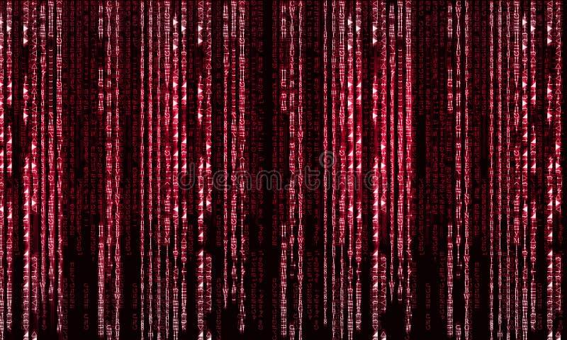 Matrixkonzept lizenzfreies stockfoto