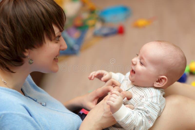 A matriz agrada seu bebê imagens de stock