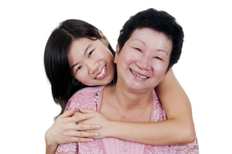 Matriz & filha imagem de stock royalty free