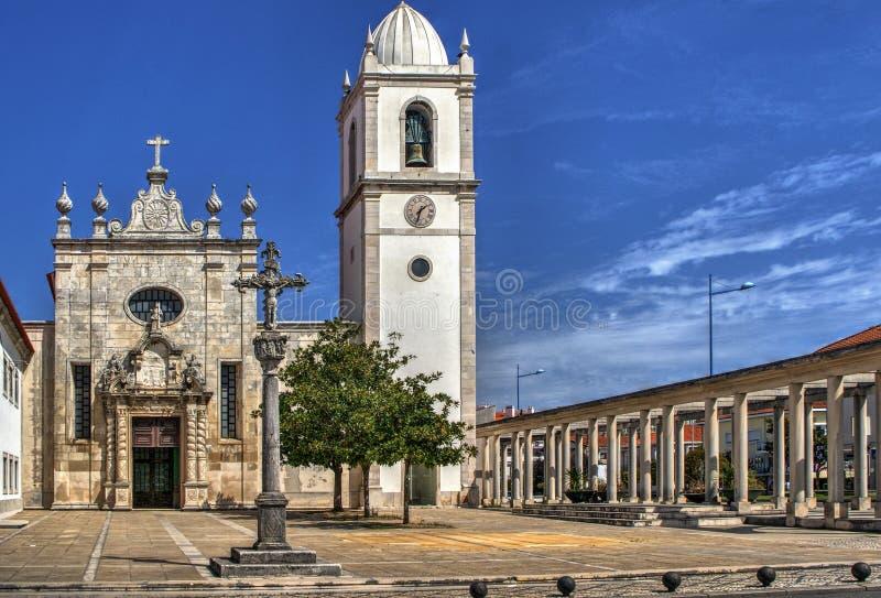 Download Matriz church of Aveiro stock image. Image of chapel - 92490813