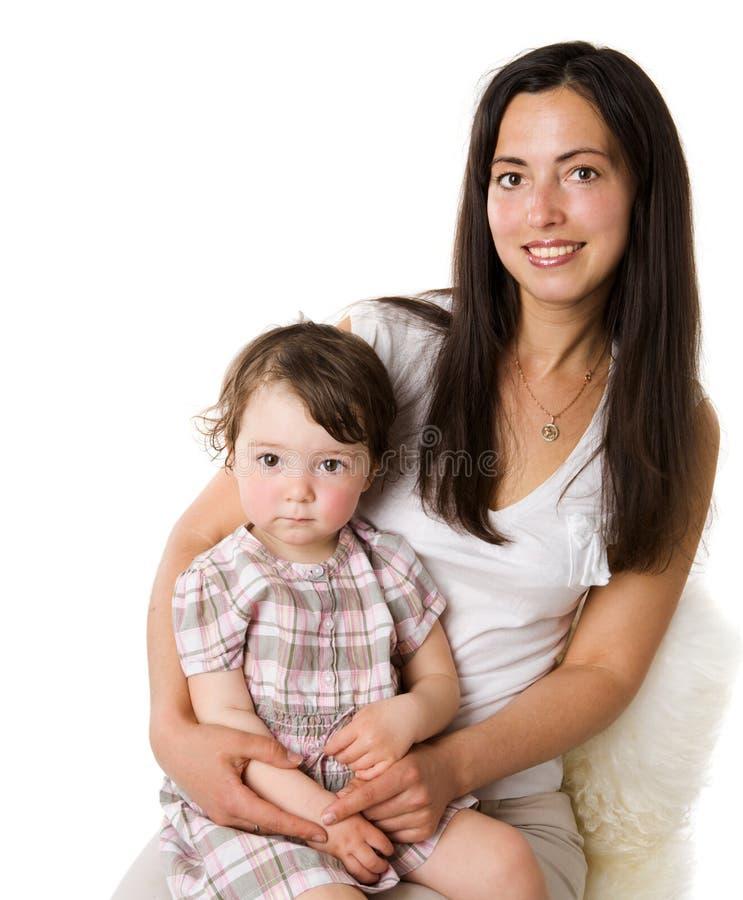 Matriz com filha foto de stock