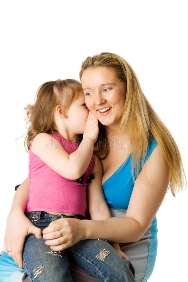 Matriz com filha fotos de stock