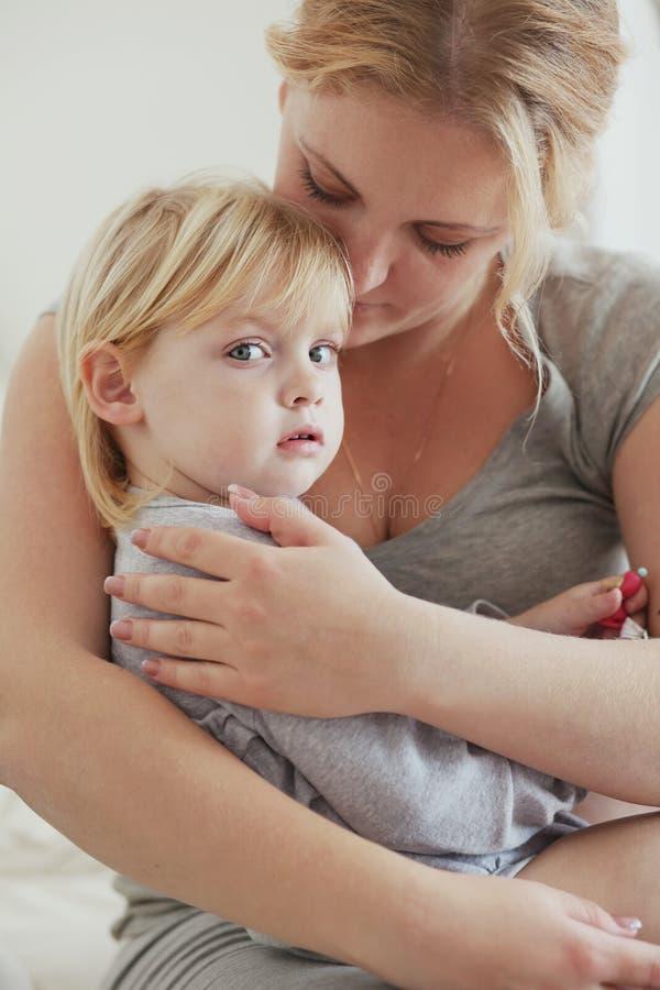 Matriz com sua criança imagem de stock royalty free