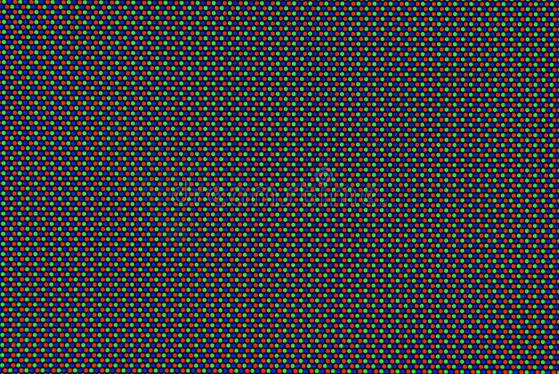 Matriz do RGB imagens de stock royalty free