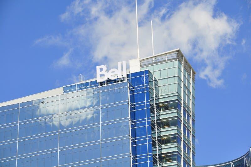 Matriz dos media de Bell em Calgary foto de stock royalty free