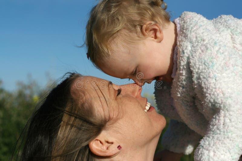Matriz e bebê fotografia de stock royalty free