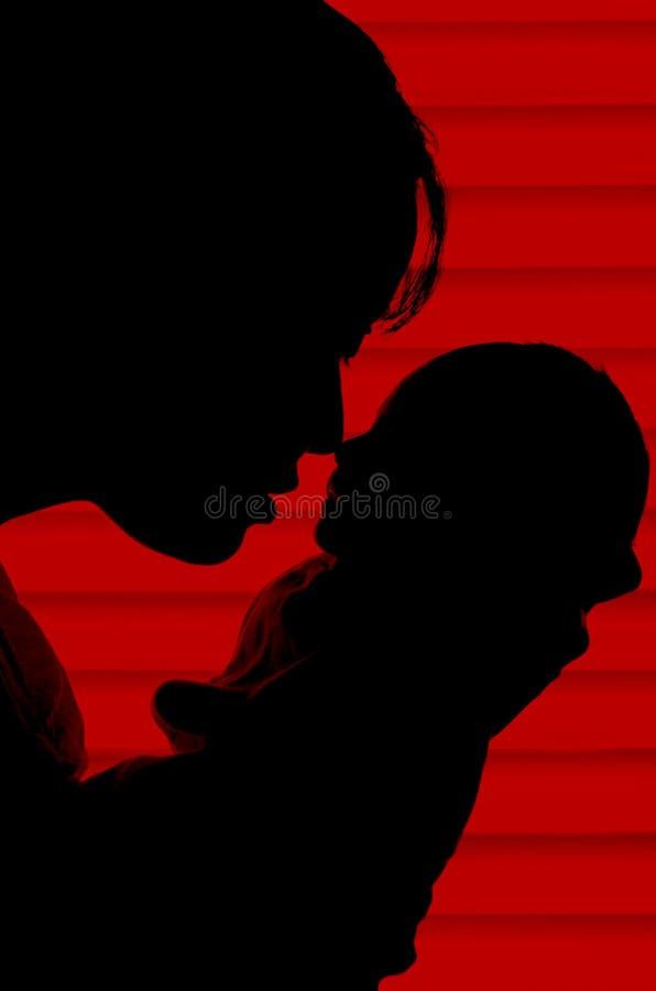 Matriz e criança foto de stock royalty free