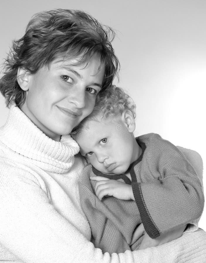 Matriz e filha imagens de stock royalty free