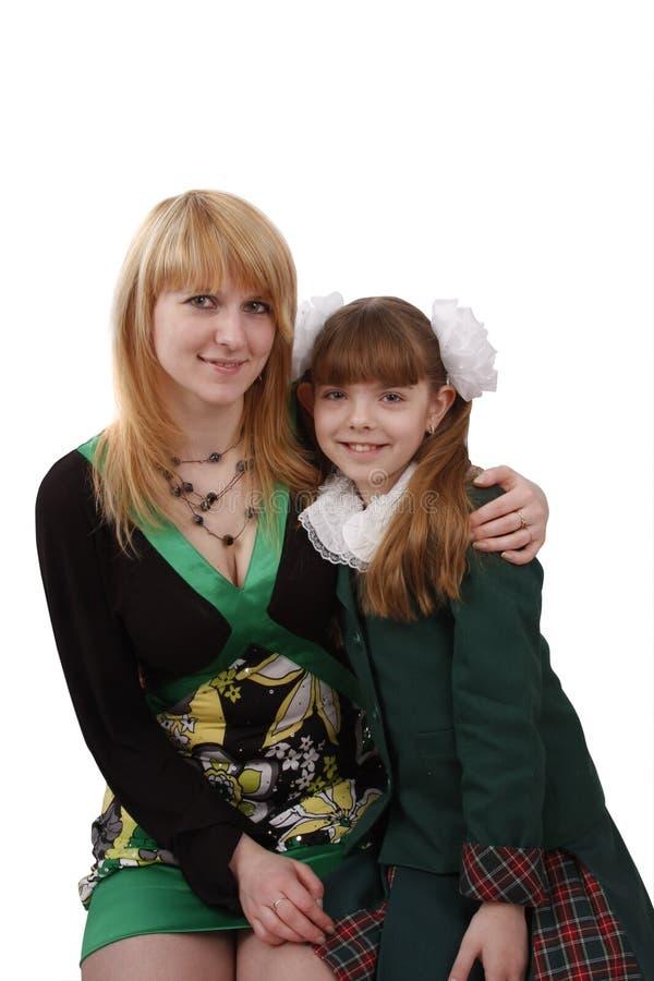 Matriz e filha. imagens de stock