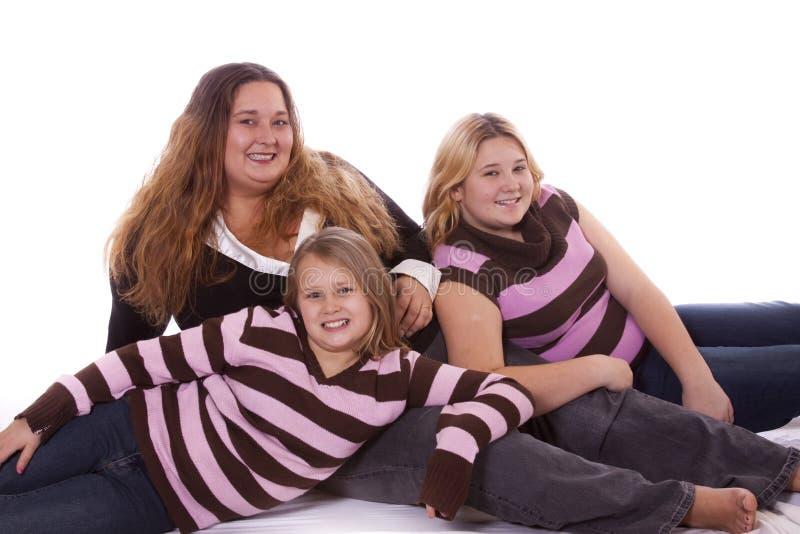 Matriz e filhas imagem de stock