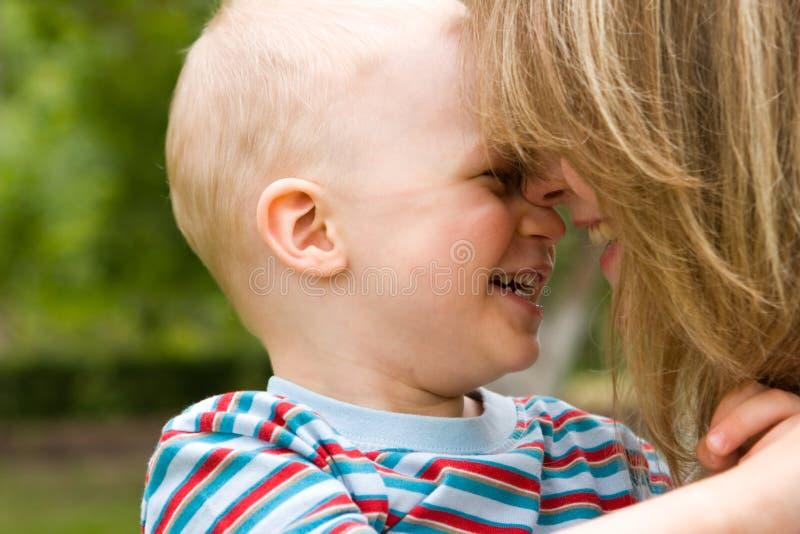 Mãe e filho fotos de stock royalty free
