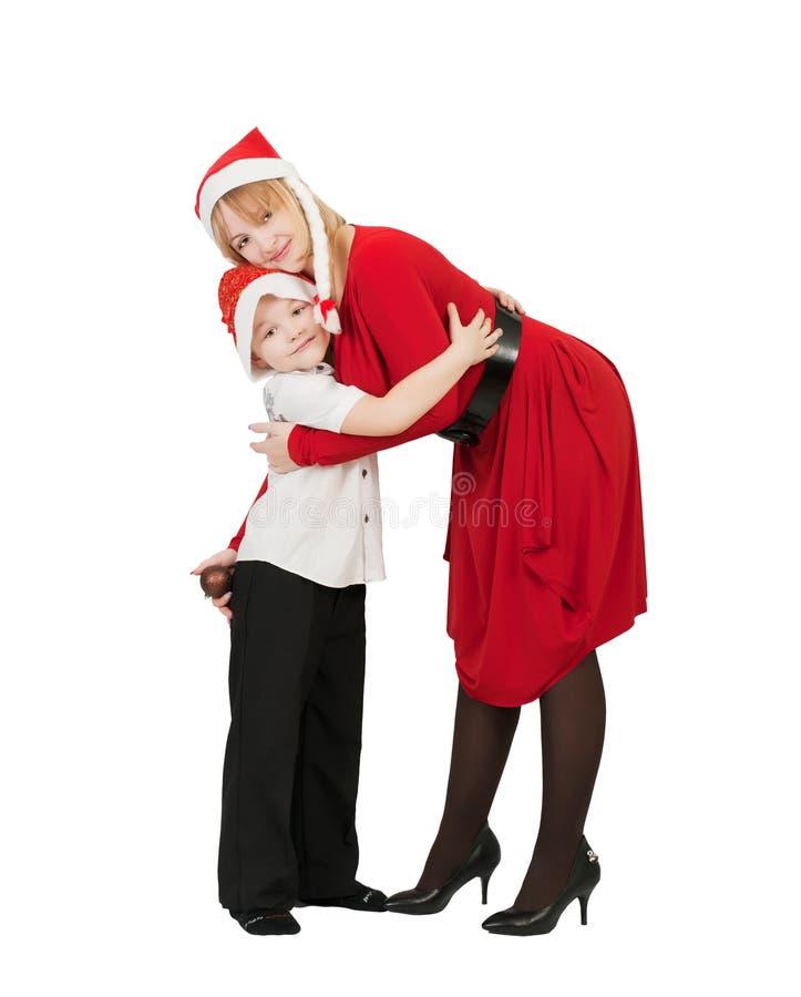 Matriz e filho felizes imagens de stock royalty free