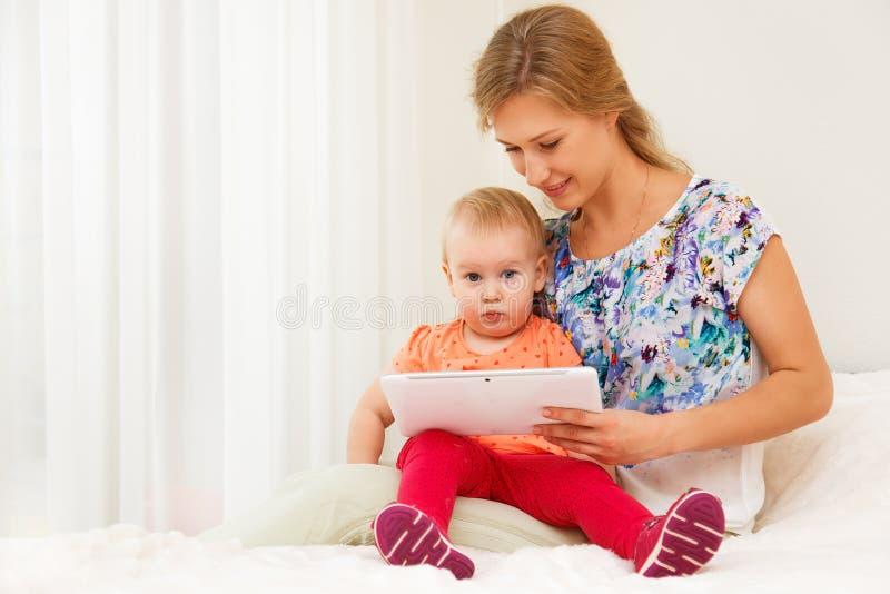 Matriz e sua criança fotografia de stock royalty free
