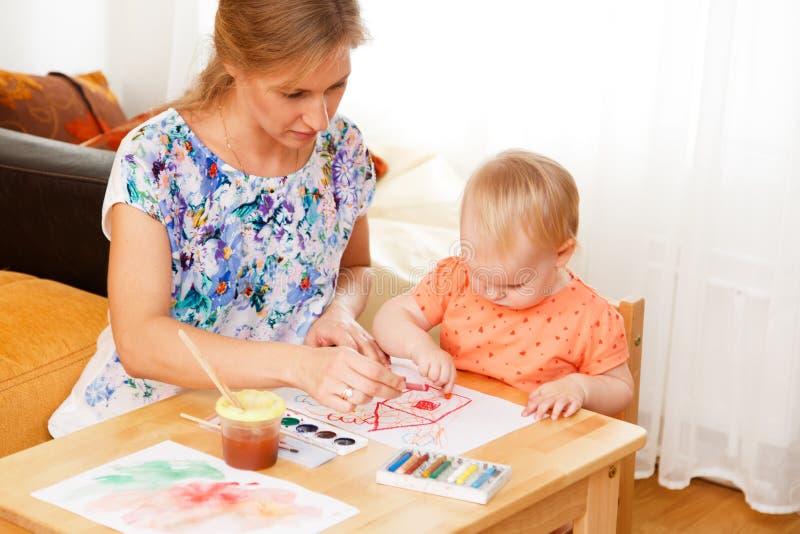 Matriz e sua criança foto de stock royalty free